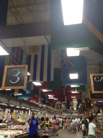 Your Dekalb Farmers Market: Many countries are represented here by the food, employees, and shoppers