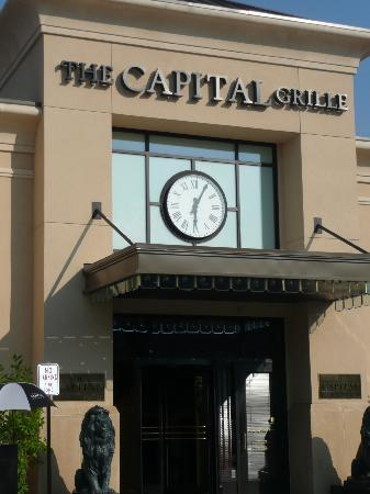 The Capital Grille: front entrance
