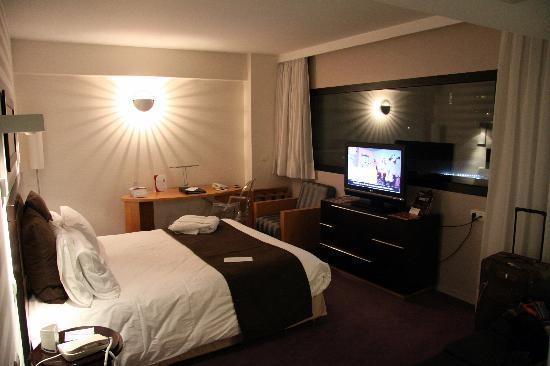 Crowne Plaza Lille: my room