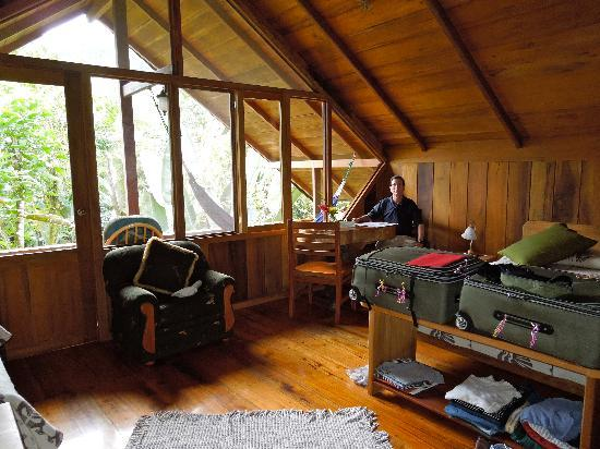 Casa Divina Lodge: Inside the cabin