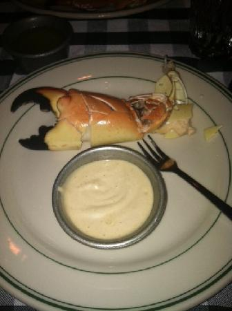Stone Crab claw with the mustard sauce! - Picture of Joe's Stone Crab ...