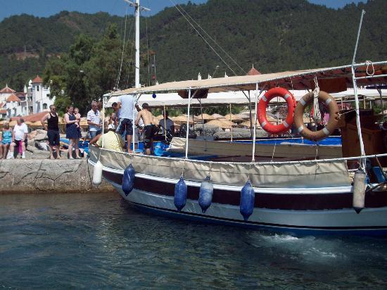 Vela Hotel Icmeler: taxi boat trip