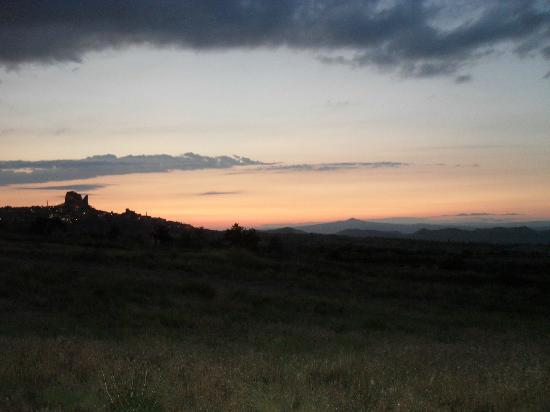 Gultekin Motel: sunset