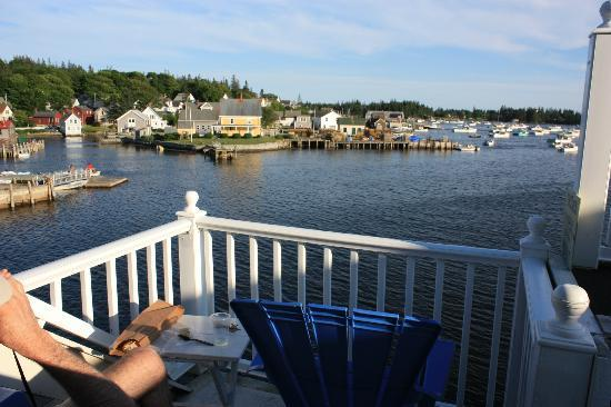 Tidewater Motel: View from the Crow's Nest deck