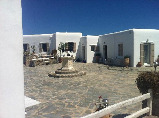 Eleni's Village Suites: the village well