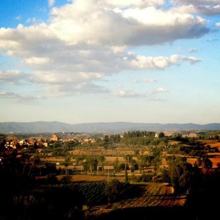 Montepulciano Country Resort: Uitzicht vanaf balkon (Poggio Olivo)