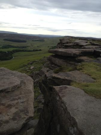 Hathersage, UK: rocks