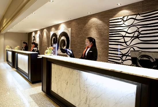 Reception: Welcome to Pullman Auckland