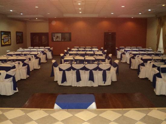 Villa del Sol Hotel y Restaurante: Salon de conferencias