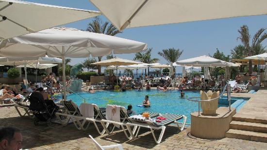 Queen of Sheba Eilat: Genügend Sonnenbetten und Schattenplätze satt