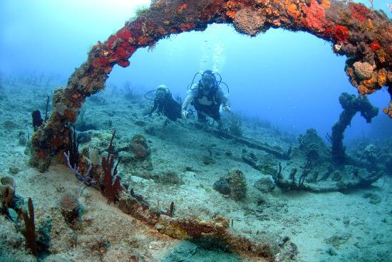 Peter Island Resort and Spa: Wreck of the Rhone