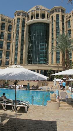 Queen of Sheba Eilat: Vom Pool zum Hotel