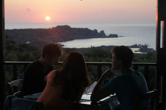 Glykeria Hotel: The view from the Tavern
