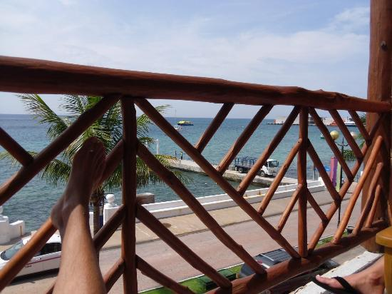 Vista del Mar Boutique Hotel : Balcony