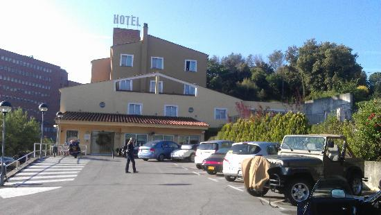 Hotel Costabella: View of hotel from front