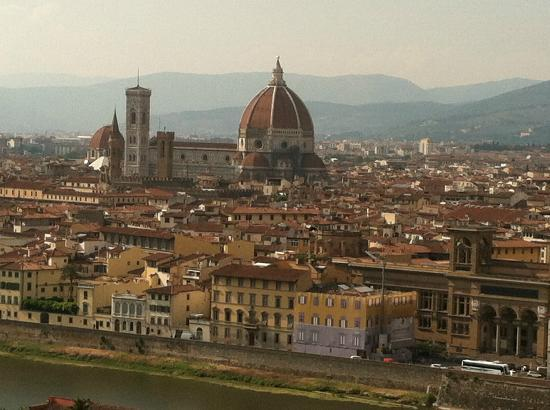 Tuscany in Tour: View of Florence