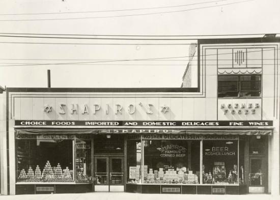 Shapiro's Delicatessen : circa 1950's