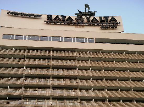 Yalta Intourist Hotel: It's big!