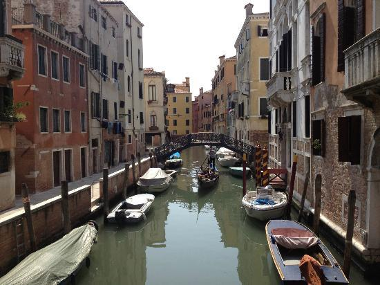 View of the canal alongside Al Palazzetto.