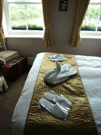 Swan Hotel: A lovely welcome!