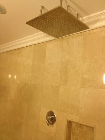 Kronborg Inn: Rain shower head.