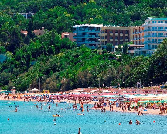 Hotel Promenade Gabicce Mare: Gabicce. hotel Promenade sulla Baia degli Angeli