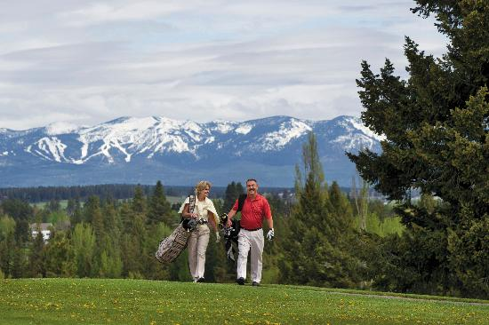 Kalispell, MT : Enjoy the area's many golf courses.