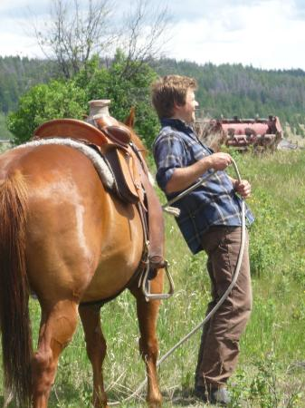 Chezacut Wilderness & Ranch Adventures: Benjamin,the guide