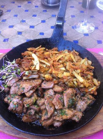 Restaurant Widder: Tipical dish