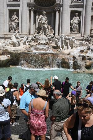 Drive Around Italy - Day Tours: Trevi Fountain--