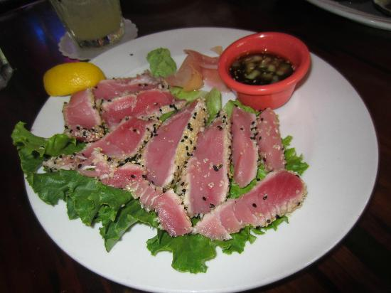 Ahi tuna picture of red fish blue fish key west for Red fish blue fish key west