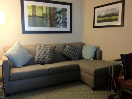 SpringHill Suites Long Island Brookhaven: also a pull out bed