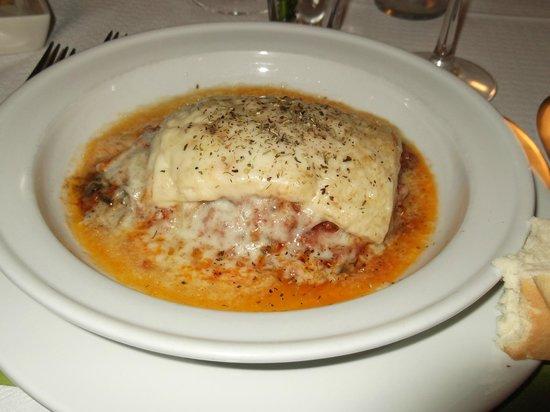 El Laurel: Lasagne