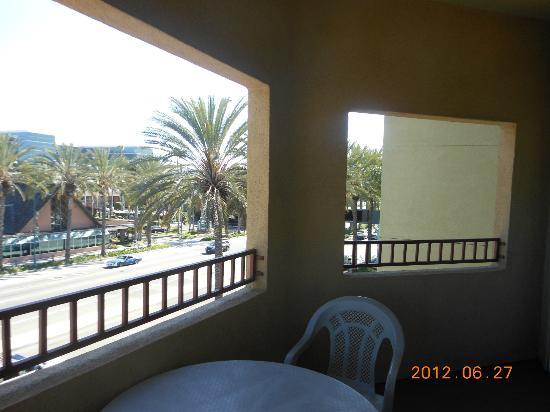 Desert Palms Hotel & Suites: Balcony - Saraha Suite