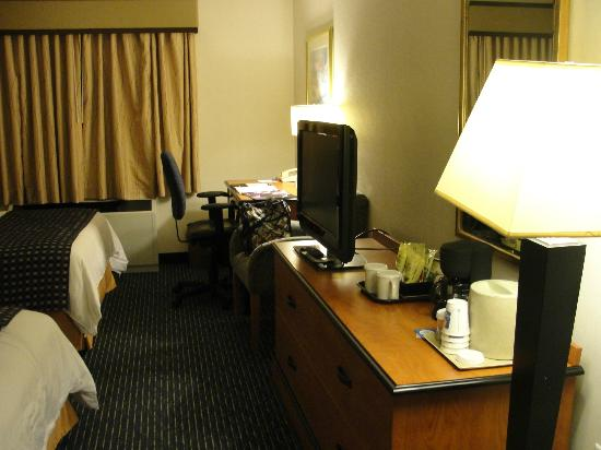 Interior - Comfort Inn & Suites Boston Logan International Airport: Tv