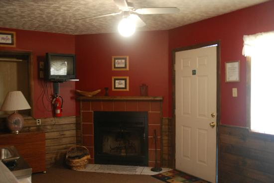Black Mountain Lodge: Fireplaces (wood burning) in select rentals