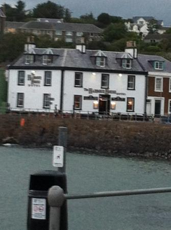 The Harbour House Hotel: view from Campbell's Restaurant