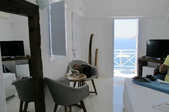 Caldera Villas: room