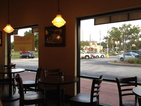 The Loop Pizza Grill: View from our table