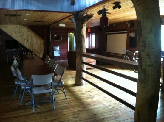 Boots Bar & Grill: great room for private parties