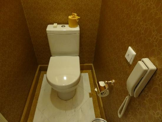 Grand Central Hotel Shanghai: Separate toilet