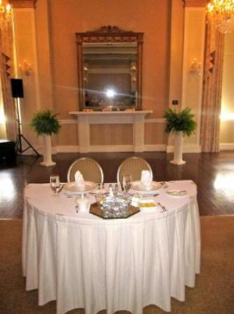 The George Washington A Wyndham Grand Hotel: The reception