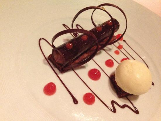Restaurant Gordon Ramsay : Chocolate cigar