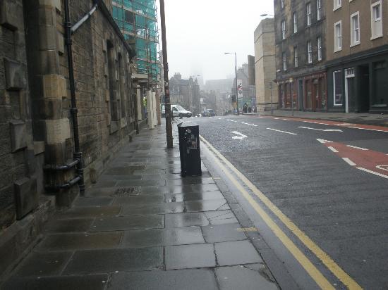 هوتل دو فين آند بيسترو أدنبره: Street outside
