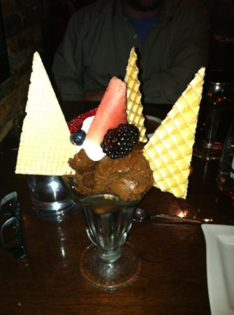Brasserie Kensington: the chocolate mousse - too die!