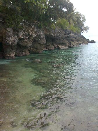 Sarangani Island: mountain below the sea...