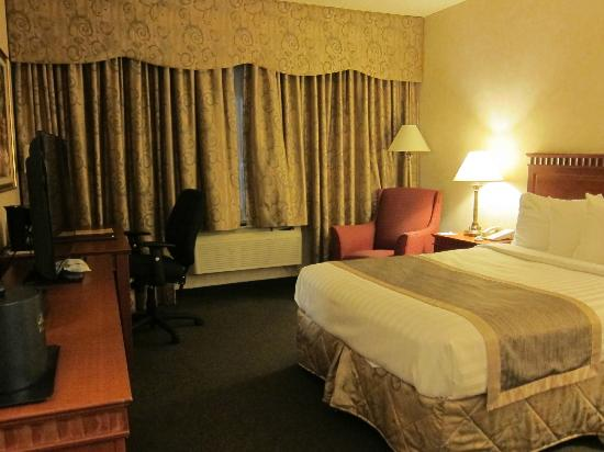 DoubleTree by Hilton Montreal Airport: Ground floor hotel room