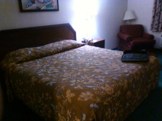 Motel 6 Santa Fe Central: Queen sized bed