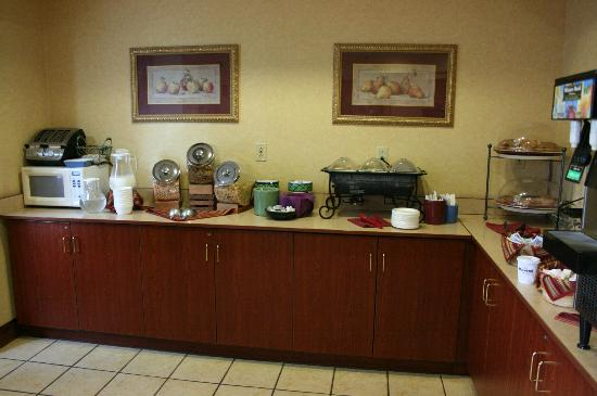 Residence Inn Huntsville: breakfast area