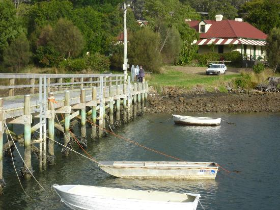 Norfolk Bay Convict Station: View from the jetty
